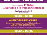 L'AMPA présente au 1er Salon de Services à la Personne de Monaco